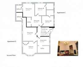 Floor Plan Apts C & D