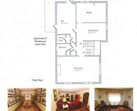 Floor Plan Apt E (Penthouse Level 1)