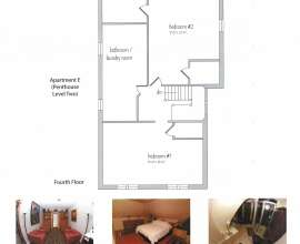 Floor Plan Apt E (Penthouse Level 2)