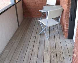 Apt B Outdoor Covered Deck
